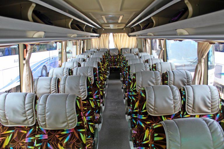 Interior Bus 35 Seat Bandung