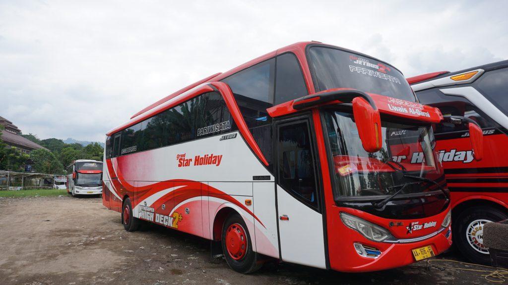 Sewa Bus Pariwisata Bandung Bali