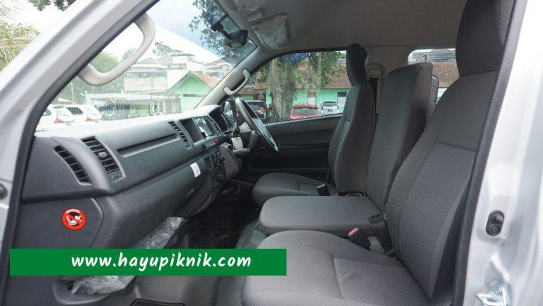 Interior Toyota Hiace 14 Seat