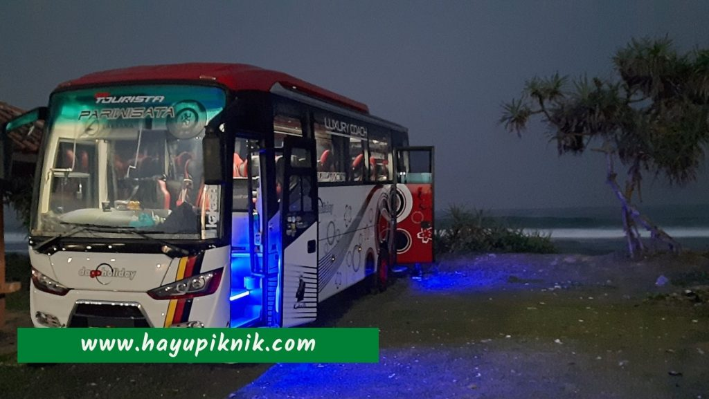 Sewa Bus Bandung Santolo